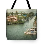View At Fort Myers Beach - Florida Tote Bag