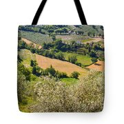 View At Montefalco Tote Bag
