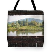 View From A Hide Impressions Tote Bag