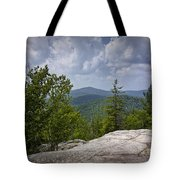 View From A Mountain In A Vermont Tote Bag