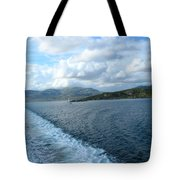 View From A Scottish Ferry Tote Bag
