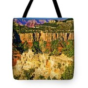 View From Angel Point  Tote Bag