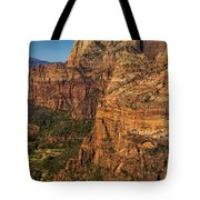 View From Angel's Landing 2 Tote Bag