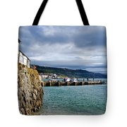 View From Back Beach - Lyme Regis Tote Bag