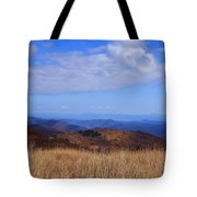 View From Black Balsam Knob Tote Bag