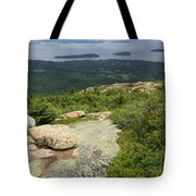 View From Cadillac Mountain - Acadia Park Tote Bag