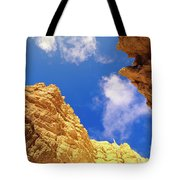 View From Of Bryce Canyon Tote Bag by Yva Momatiuk John Eastcott