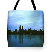 View From Central Park Tote Bag