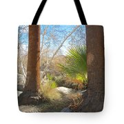 View From Creek Bed In Andreas Canyon In Indian Canyons-ca Tote Bag