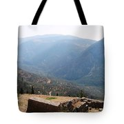 View From Delphi 2 Tote Bag