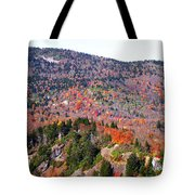View From Devil's Courthouse 3 Tote Bag