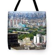 View From Edificio Martinelli 2 - Sao Paulo Tote Bag