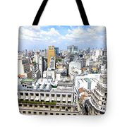 View From Edificio Martinelli - Sao Paulo Tote Bag