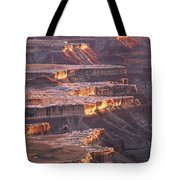 View From Grandview Point Canyonlands Tote Bag