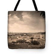 View From Hradcany Of Mala Strana Tote Bag