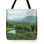 View From Kent St. Tote Bag