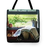 View From Kitchen Window Tote Bag