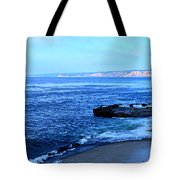 View From La Jolla Tote Bag