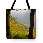 View From Lookout Mountain Tote Bag