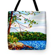 View From Mazengah Tote Bag