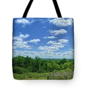 View From Monticello Tote Bag