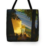 View From My Window On A Summer Afternoon  B-21 Tote Bag