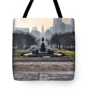 View From Rocky's Footsteps Tote Bag
