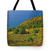 View From Skyline Trail In Cape Breton Highlands Np-ns Tote Bag