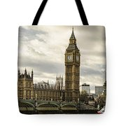 View From Southbank Tote Bag