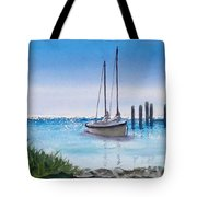 View From The Barnacle Tote Bag