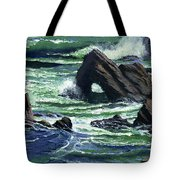 View From The Bluffs Tote Bag