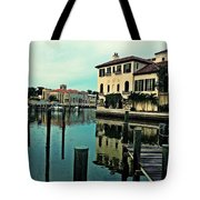 View From The Boardwalk 3 Tote Bag by K Simmons Luna