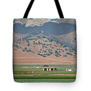 View From The Crops Tote Bag