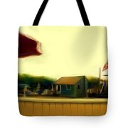 View From The Deck Tote Bag