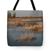 View From The Duck Blind Tote Bag