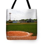 View From The Dugout Tote Bag
