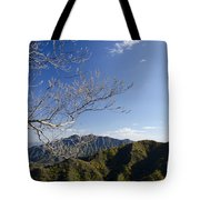 View From The Great Wall 842 Tote Bag