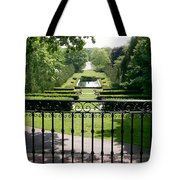View From The Jefferson Porch Tote Bag