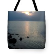 View From The Jetty 2 Tote Bag