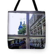 View From The Novodevichy Convent - Russia Tote Bag