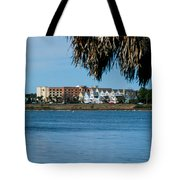View From The Palms Tote Bag