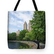 View From The Park West Side Tote Bag