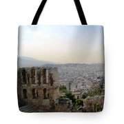 View From The Parthenon Tote Bag