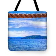 View From The Resort 6799 Tote Bag