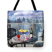 View From The Terrace Tote Bag
