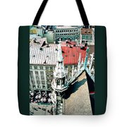 View From The Top Of Munich City Hall Tote Bag