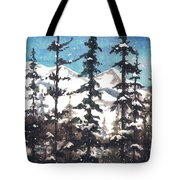 View From Twister Lift Tote Bag