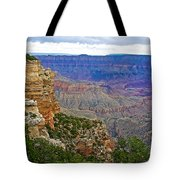 View From Walhalla Overlook On North Rim Of Grand Canyon-arizona  Tote Bag
