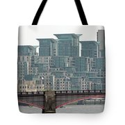 View From Westminster Bridge Tote Bag