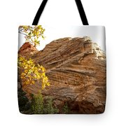 View From Zion-mount Carmel Highway In Zion Np-ut Tote Bag
